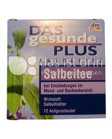 Produktabbildung: Das gesunde Plus Arzneitee Salbeitee 12 Beutel