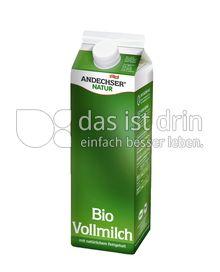 Produktabbildung: Andechser Natur Bio-Vollmilch 3,8% 1 l