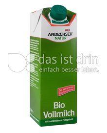 Produktabbildung: Andechser Natur Bio-Vollmilch, längerfrisch 3,8% 1 l