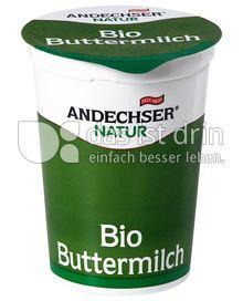 Produktabbildung: Andechser Natur Bio-Buttermilch 1% 500 g