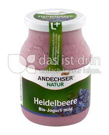 Produktabbildung: Andechser Natur Bio-Jogurt mild, Heidelbeere 3,7% 500 g