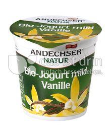 Produktabbildung: Andechser Natur Bio-Jogurt mild, Vanille 3,7% 150 g