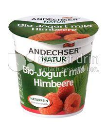 Produktabbildung: Andechser Natur Bio-Jogurt mild, Himbeere 3,7% 150 g