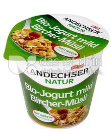 Produktabbildung: Andechser Natur Bio-Jogurt mild, Bircher-Müsli 3,7% 150 g