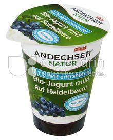 Produktabbildung: Andechser Natur Bio-Jogurt mild auf Heidelbeere 0,1% 180 g