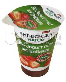 Produktabbildung: Andechser Natur Bio-Jogurt mild auf Erdbeere 3,7% 180 g