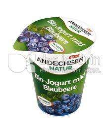 Produktabbildung: Andechser Natur Bio-Jogurt mild, Blaubeere 3,7% 400 g