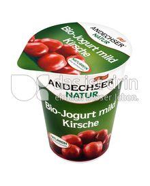 Produktabbildung: Andechser Natur Bio-Jogurt mild, Kirsche 3,7% 400 g