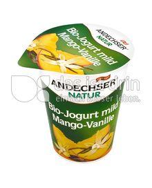 Produktabbildung: Andechser Natur Bio-Jogurt mild, Mango-Vanille 3,7% 400 g