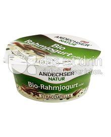 Produktabbildung: Andechser Natur Bio-Rahmjogurt mild, Stracciatella 10% 150 g