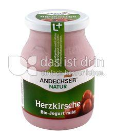Produktabbildung: Andechser Natur Bio-Jogurt mild, Herzkirsche 3,7% 500 g