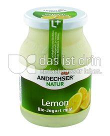 Produktabbildung: Andechser Natur Bio-Jogurt mild, Lemon 3,7% 500 g