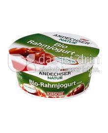 Produktabbildung: Andechser Natur Bio-Rahmjogurt mild, Kirsche 10% 150 g