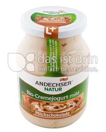 Produktabbildung: Andechser Natur Bio-Cremejogurt mild, Milchschokolade 7,5% 500 g