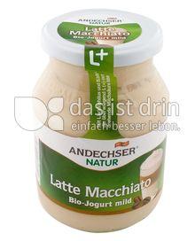 Produktabbildung: Andechser Natur Bio-Jogurt mild, Latte Macciatto 3,7% 500 g