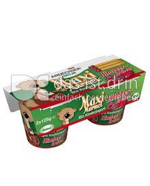 Produktabbildung: Andechser Natur Bio-Kinderjogurt mild, Himbeer-Erdbeere 3,7% 250 g