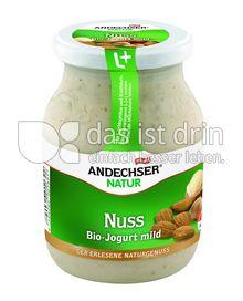 Produktabbildung: Andechser Natur Bio-Jogurt mild, Nuss, 3,7% 500 g