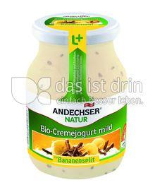 Produktabbildung: Andechser Natur Bio-Jogurt mild, Bananensplit, 7,5% 500 g