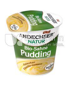 Produktabbildung: Andechser Natur Bio-Sahne Pudding, Vanille 150 g