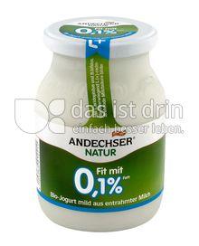 Produktabbildung: Andechser Natur Bio-Jogurt mild, Fit mit 0,1% 500 g
