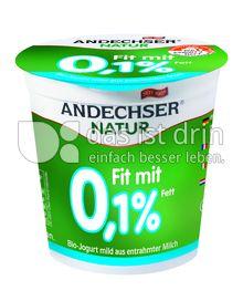 Produktabbildung: Andechser Natur Bio-Jogurt mild Fit mit 0,1% 150 g