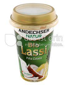 Produktabbildung: Andechser Natur Bio-Lassi Piña Colada 250 g
