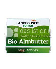 Produktabbildung: Andechser Natur Bio-Almbutter 250 g