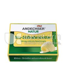 Produktabbildung: Andechser Natur Bio-Süßrahmbutter 250 g