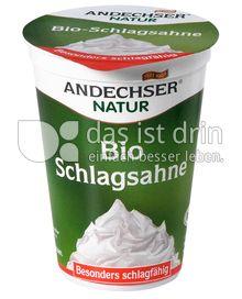 Produktabbildung: Andechser Natur Bio-Schlagsahne 200 g