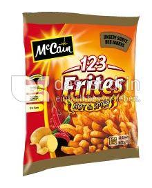 Produktabbildung: McCain 1·2·3 Frites Hot & Spicy 600 g