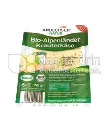 Produktabbildung: Andechser Natur Bio-Alpenländer Kräuterkäse 50% 150 g