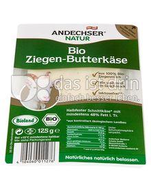 Produktabbildung: Andechser Natur Bio-Ziegen-Butterkäse 48% 125 g