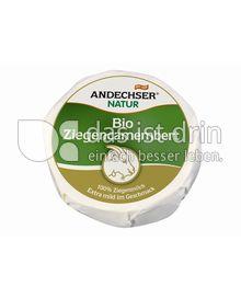 Produktabbildung: Andechser Natur Bio-Ziegencamembert 50% 100 g