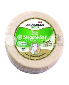 Produktabbildung: Andechser Natur Bio-Ziegenkäse Natur 45% 600 g