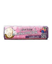 Produktabbildung: shokomonk star*bar Zartbitter waldfrucht 50 g