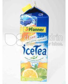 Produktabbildung: Pfanner iceTea Lemon-Lime 2 l