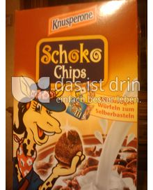 Produktabbildung: Knusperone Schoko Chips 750 g