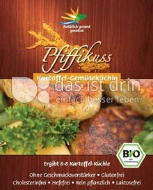 Produktabbildung: Pfiffikuss Kartoffe-Gemüseküchle 110 g
