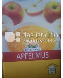Produktabbildung: Sweet Valley Apfelmus 710 g