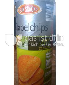 Produktabbildung: Sun Snacks Stapelchips Cheese + PEP Style 175 g