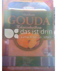Produktabbildung: Alpenmark Delikate Gouda Käsescheiben 250 g