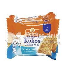 Produktabbildung: Brandt Snack-Pack Kokos-Zwieback 175 g