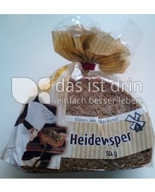 Produktabbildung: Heidevesper Roggenvollkornbrot 500 g