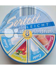 Produktabbildung: Sortett Schmelzkäse-Ecken Leicht Halbfettstufe 250 g