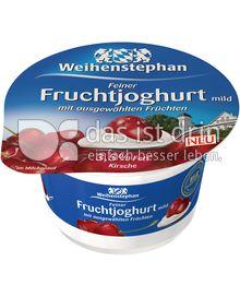 Produktabbildung: Weihenstephan Feiner Fruchjoghurt mild Kirsche 150 g