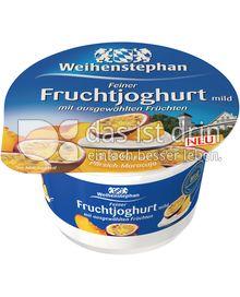 Produktabbildung: Weihenstephan Feiner Fruchtjoghurt mild Pfirsich-Maracuja 150 g