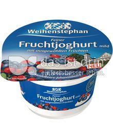 Produktabbildung: Weihenstephan Feiner Fruchtjoghurt mild Heidelbeere-Johannisbeere 150 g