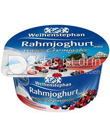 Produktabbildung: Weihenstephan Rahmjoghurt Holunderbeere-Johannisbeere 150 g
