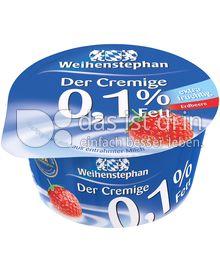 Produktabbildung: Weihenstephan Der Cremige Erdbeere 0,1% 150 g