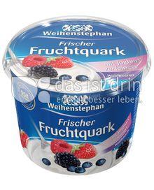 Produktabbildung: Weihenstephan Frischer Fruchtquark Sommergenuss Waldbeeren 500 g